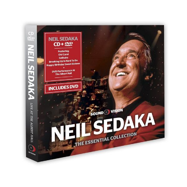 Neil Sedaka Essential Collection (CD & DVD 2013) Show Goes On Live Royal Albert  Hall (NEW N SEALED)